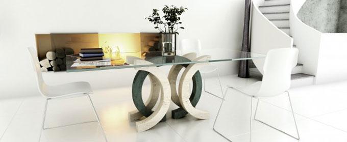 Muebles en marmol Moll