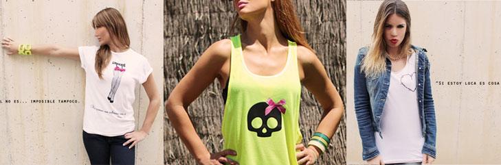 camisetas para chica hechas en España