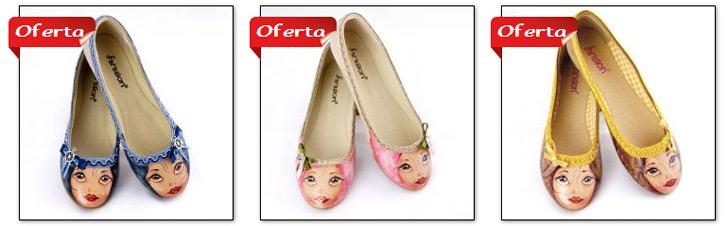 calzado bailarinas